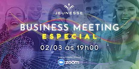 BUSINESS MEETING ESPECIAL [CONVIDADOS] ingressos