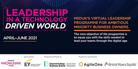MSDUK Leadership in a Technology Driven World Programme - Info Session tickets