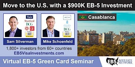 U.S. Green Card Virtual Seminar – Casablanca, Morocco tickets