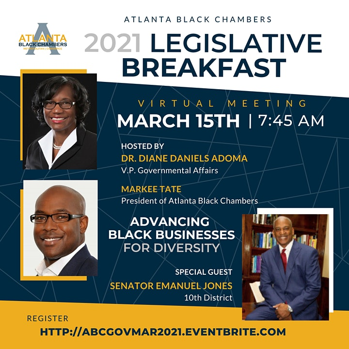 2021 Virtual Legislative Breakfast image