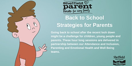 Back to School - Strategies for Parents tickets