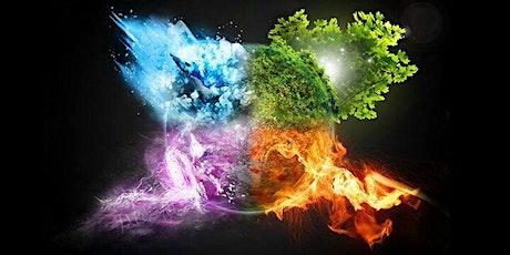Curso de Magia Natural - Elementos e Elementais entradas