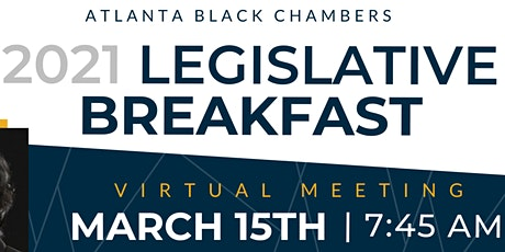 2021 Virtual Legislative Breakfast tickets