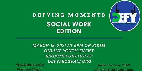 Defying Moments Social Work Edition tickets