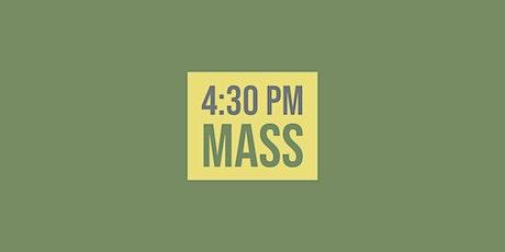 4:30 Mass - March 6, 2021 tickets