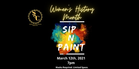 Womens History Month: Sip and Paint! tickets