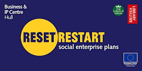 Reset. Restart: Your Social Enterprise Plans tickets