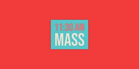 11:30 Mass - March 7, 2021 tickets