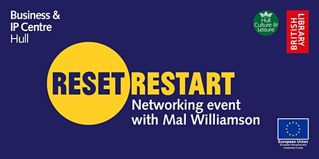 Reset. Restart Networking Event with Mal Williamson (Creator Coach) tickets