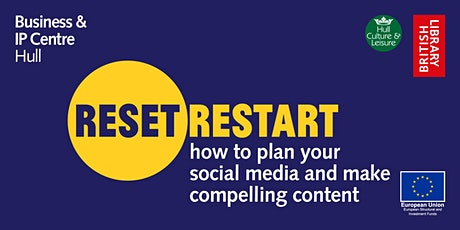 Reset. Restart: How to plan your social media and make compelling content tickets