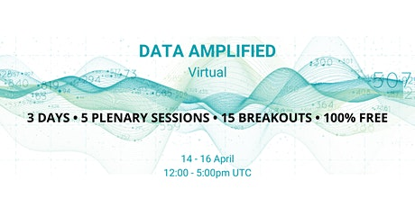 Data Amplified Virtual 2021 tickets