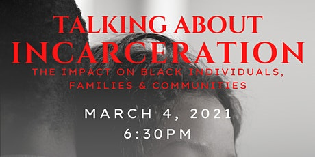 Black Mental Health: Talking About Incarceration tickets