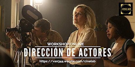 Workshop: Dirección de actores entradas