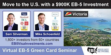 U.S. Green Card Virtual Seminar – Victoria, Seychelles tickets