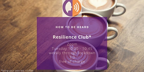 Resilience Club tickets