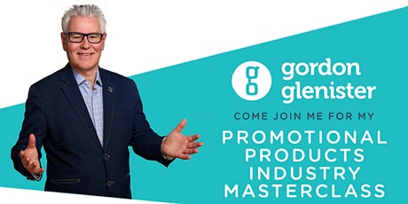 Promotional Products  Industry Relaunch Masterclass tickets
