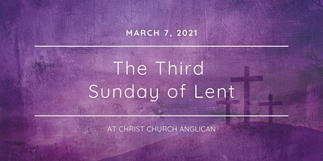 Christ Church Anglican March 7  Services tickets