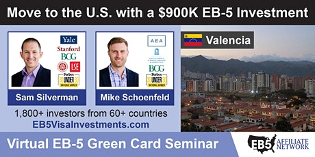 U.S. Green Card Virtual Seminar – Valencia, Venezuela tickets