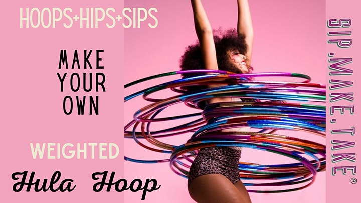 Make your own weighted hula hoop image