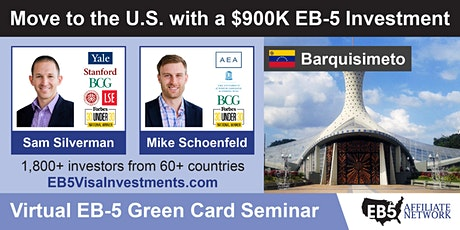 U.S. Green Card Virtual Seminar – Barquisimeto, Venezuela tickets