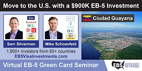 U.S. Green Card Virtual Seminar – Ciudad Guayana, Venezuela tickets