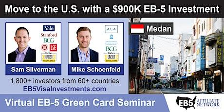 U.S. Green Card Virtual Seminar – Medan, Indonesia tickets