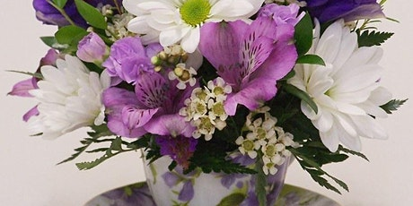 """A """"Sip"""" of Spring - Afternoon Tea and Floral Design Workshop tickets"""