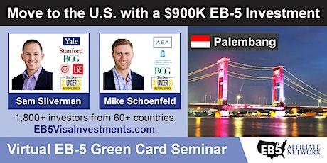 U.S. Green Card Virtual Seminar – Palembang, Indonesia tickets