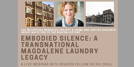 "Live webinar ""Embodied Silence: A Transnational Magdalene Laundry Legacy"" tickets"