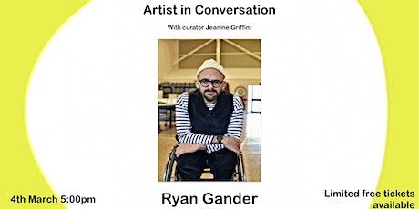 Artist in conversation: Ryan Gander tickets