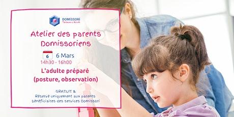 Atelier des Parents Domissoriens : l'apport d'un éducateur Montessori billets