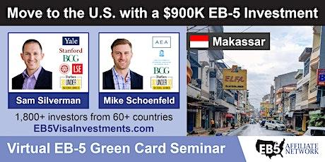U.S. Green Card Virtual Seminar – Makassar, Indonesia tickets