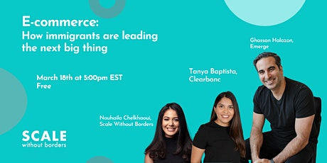 E-commerce: how immigrants are leading the next big thing tickets