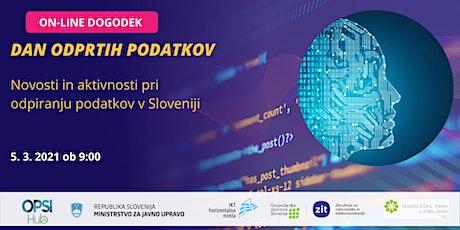 Dan odprtih podatkov Slovenije tickets