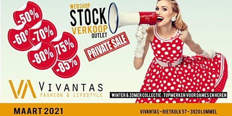 Vivantas stockverkoop *private sale* maart 2021 tickets