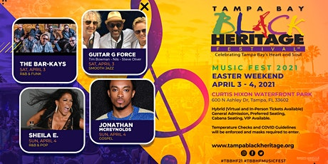 Tampa Bay Black Heritage Festival:  Music Fest 2021 tickets