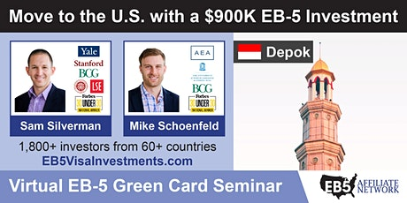 U.S. Green Card Virtual Seminar – Depok, Indonesia tickets