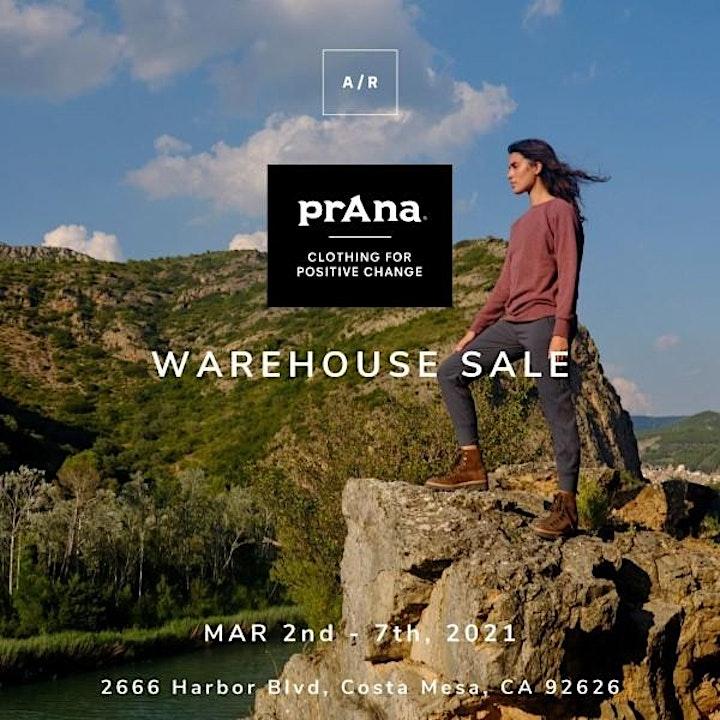 prAna Warehouse Sale - Costa Mesa, CA image