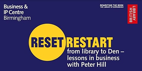 Reset.Restart: Lessons in Business with Peter Hill - Pitching Your Business tickets