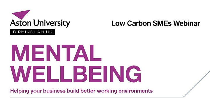 Mental Wellbeing-Helping your business build better working environment image