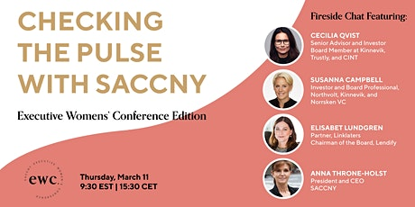 Checking the Pulse with SACCNY: Executive Womens' Conference Edition tickets
