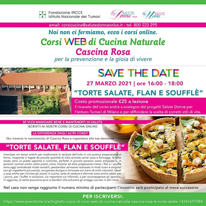 Immagine Copia di Corsi Web di Cucina Naturale - Cascina Rosa: Le Torte Salate