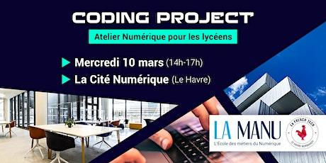 Atelier Numérique (lycéens) Ecole LA MANU x French Tech Le Havre billets