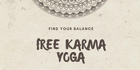 FREE Karma Yoga Class tickets