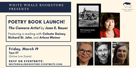 """Poetry Book Launch! """"The Camera Artist"""" by Joan E. Bauer tickets"""