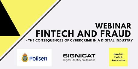 Webinar: Fintech and Fraud tickets