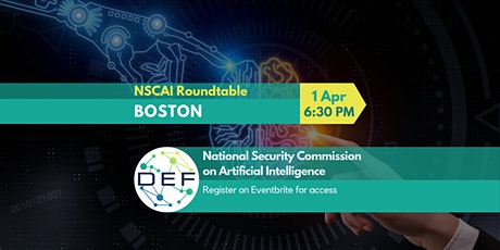 DEF Boston: NSCAI Roundtable tickets