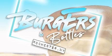 Burgers & Bottles tickets