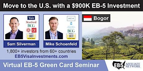 U.S. Green Card Virtual Seminar – Bogor, Indonesia tickets