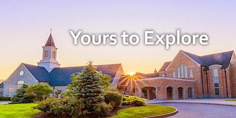 10:45 Exploring Service, 3/14/2021, Chapel, Atrium and Infant-High School tickets